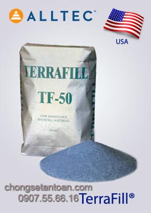 Hóa chất giảm điện trở đất Terrafill (Mỹ)