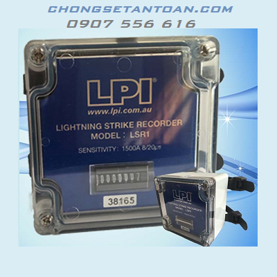 Thiết bị đếm sét LPI LSR1