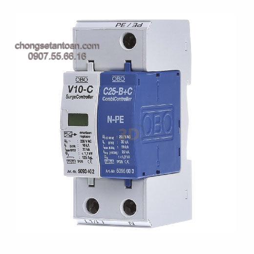 Thiết bị chống sét nguồn AC V 10-C 1+NPE-280